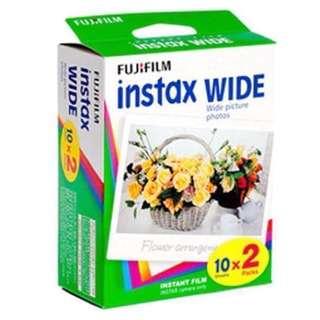 [INSTOCK] Fujifilm Instax Wide Plain Film