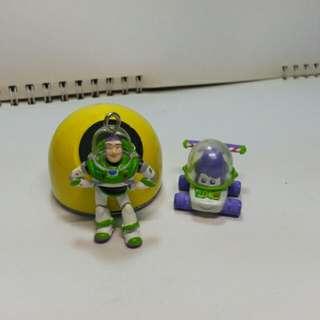 🚚 Disney迪士尼系列大集合吊飾擺飾 玩具總動員巴斯光年 日本絕版buss Light year Toy Story