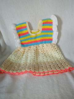 Handmade Crochet Baby shoes and Clothes