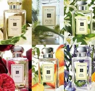 Pre order authentic perfumes (Jo Malone)