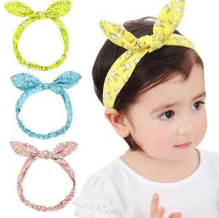 3Pcs Bunny headband