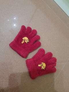 Pikachu gloves for toddler