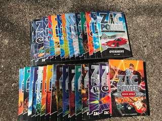 Zac power books bundle