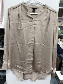H&M Silk Tunic Top - Preloved, Excellent Condition