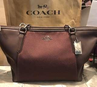 Coach Bag (Legacy Jacquard Tote)