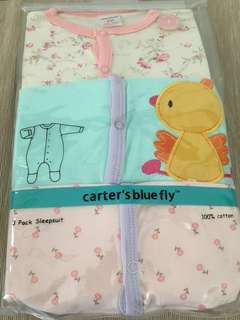 1Pack Baby Sleepsuit Romper