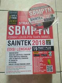 Buku SBMPTN Saintek 2018 Lengkap + CD