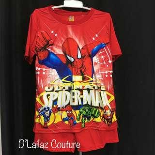 Clearance Sales Spiderman Boy Short Pant Set