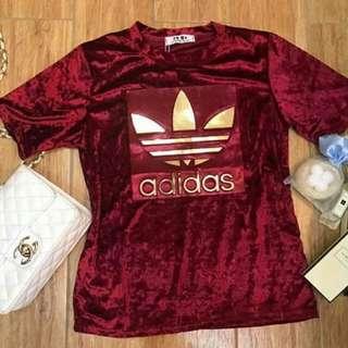 Adidas Velvet Shirts♡