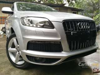 Audi Q7 3.0(A) S-line / 5 seater / UNREGISTERED / Year 2012
