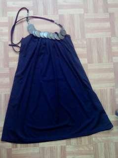 Trapeze halter dress