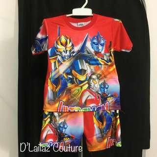 Clearance Sales Ultraman Boy Short Pant Sets!