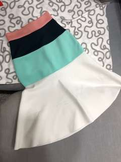 MDS Colour Block Skirt