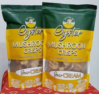 Guilt FREE Mushroom Crisps Sour Cream (New Flavor!)
