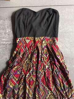 Tribal tube dress (with pockets)