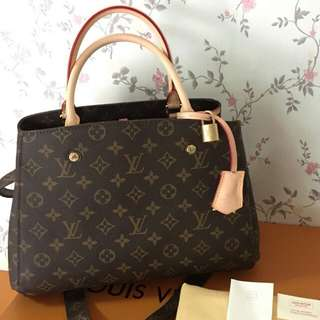 LOUIS VUITTON MONTAIGNE MONOGRAM COMPLETE