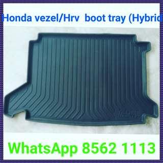 Honda Vezel/Hrv Boot Tray.(Petrol and Hybrid, Good Quality)