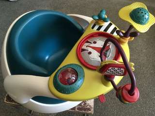 Baby Snug Baby Seat with Detachable Play Tray