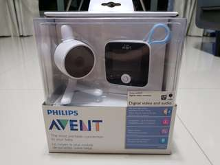 Philips avent baby monitor SCD610