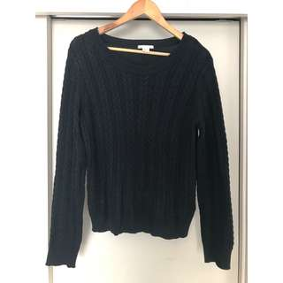 H&M cable knit jumper