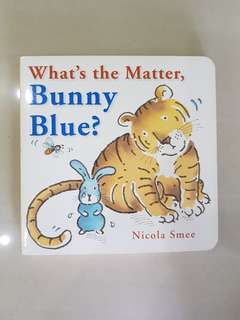 What's the Matter, Bunny Blue
