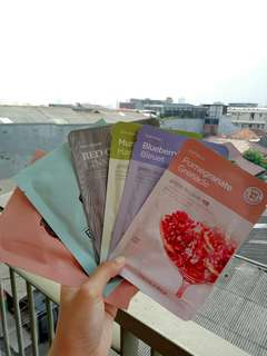 The Faceshop & Skinfood Sheetmask