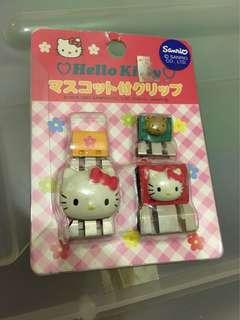Hello Kitty 文件釘 中古
