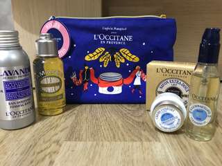 Loccitane winter essential set