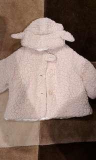 Guc fleecy lamb coat