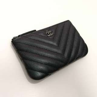 Authentic Chanel Mini O Case Limited Edition