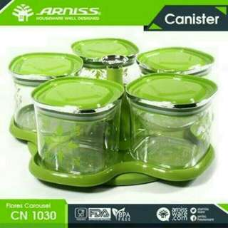 Toples arniss canister carousell