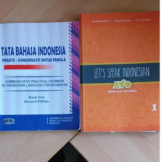 Let's speak Indonesian & Indonesian Grammar book for beginners
