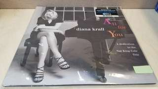 Diana Krall - all for you 2LP VINYL/LP 黑膠