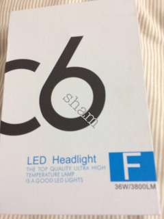 C6 h4 led light saga blm