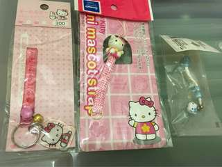 Hello Kitty 電話繩