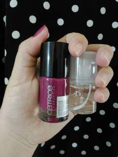 #horegajian kuteks catrice 95 For Some It's Plum (BONUS TOP COAT!)
