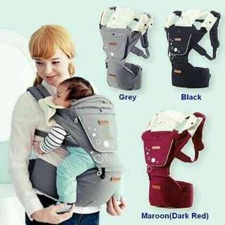 Korean IMAMA Baby HipCarrier c/w 2 Napkin Shoulder Strap