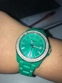 Fossil Turquoise Watch
