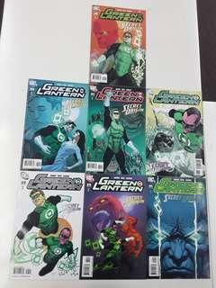 Green Lantern Secret Origin (2008 DC) Comics Set