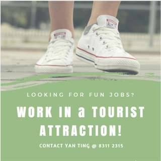 ☼ WORK IN TOURIST ATTRACTION! ☼