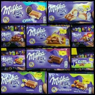 Milka chocolate bar Halal