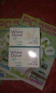 WhiteDove soap (skinenergy formula)