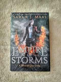 Empire of Storms Sarah J Maas Hardback