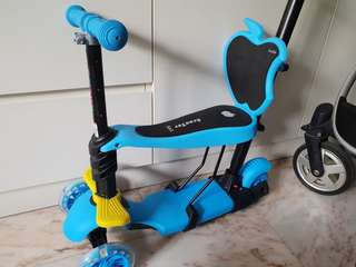 Kids Scooter with Seat and Handle