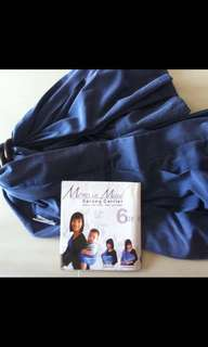 Moms in mind sarong carrier / Baby Slings / breastfeeding clothing