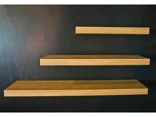 Rak dinding/floating shelves (set)