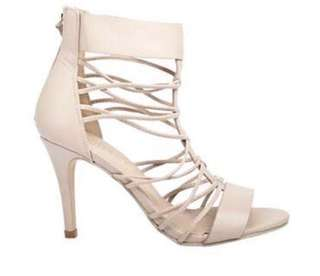 Nude stiletto heels *if bought with the other Wildfire Jessica heels listed, get both for $7*