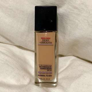 [MAYBELLINE] Fit me foundation - Dewy and Smooth - Ivory
