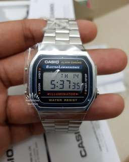 Original Casio Watch A168WA-1