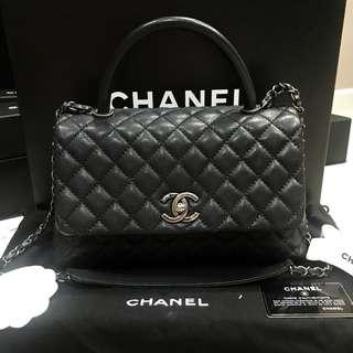 Authentic Chanel Coco Black Medium
